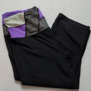 Reebok Short Capri Leggings Women's Size Medium